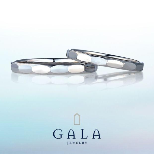 【GALA JEWELRY(ガラジュエリー)】GALA_マリッジリング〜カジュアル〜