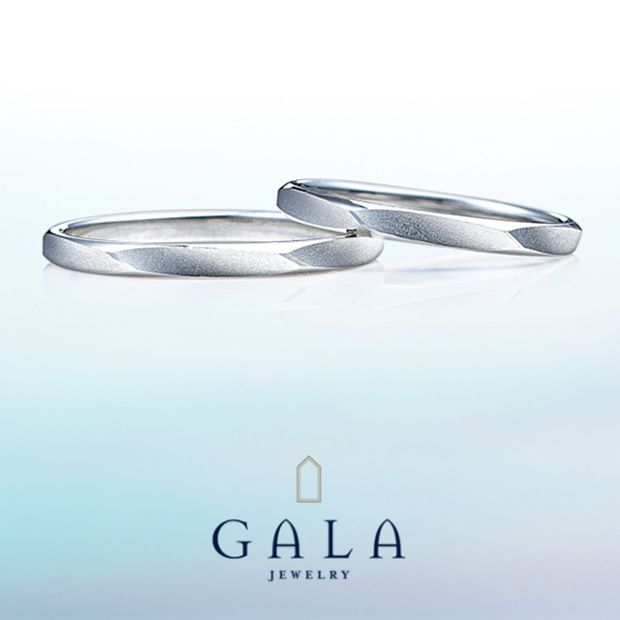 【GALA JEWELRY(ガラジュエリー)】GALA_マリッジリング〜シンプル〜