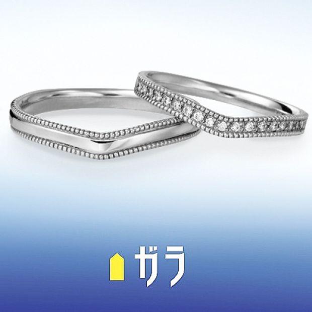 【ガラOKACHIMACHI】【ガラ】 マリッジリング ~Gorgeous~