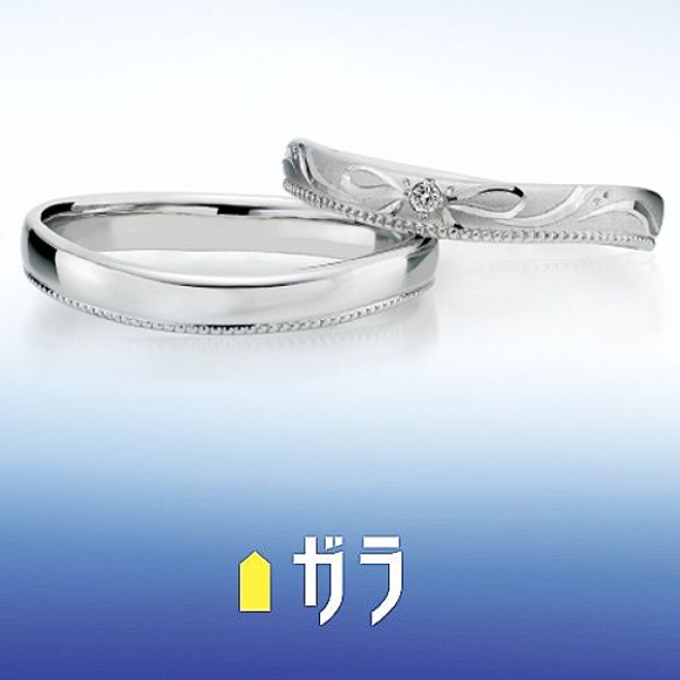 【ガラOKACHIMACHI】【ガラ】 マリッジリング ~Cute~