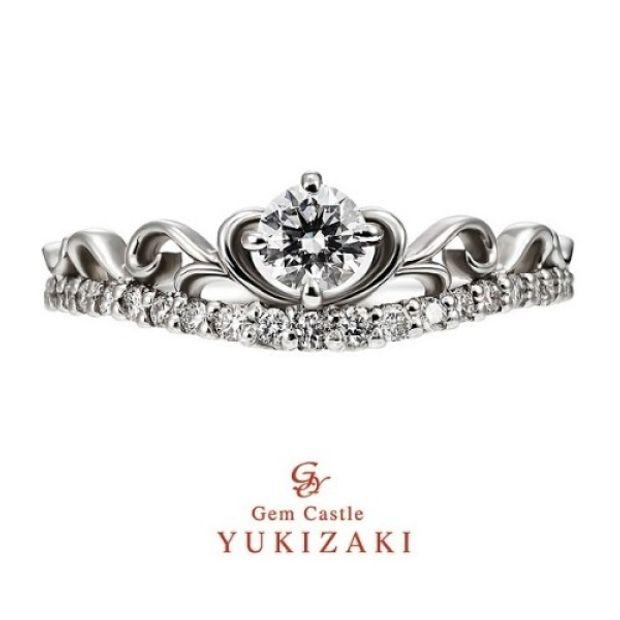 【YUKIZAKI BRIDAL(ユキザキブライダル)】【Gem Castle YUKIZAKI】ロゼクィーン