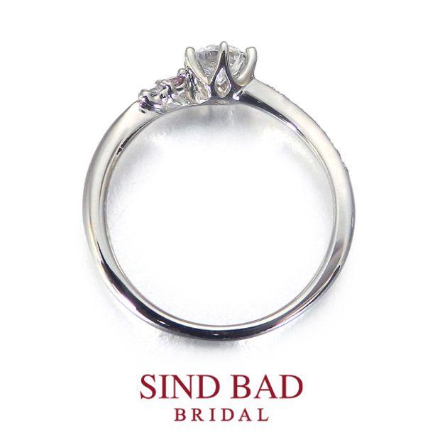 【SIND BAD(シンドバット)】婚約指輪【美澪(みれい)】
