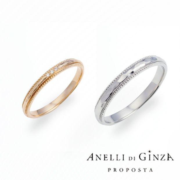 【JEWEL SEVEN BRIDAL(ジュエルセブンブライダル)】ANELLI DI GINZA PROPOSTA  -statice-