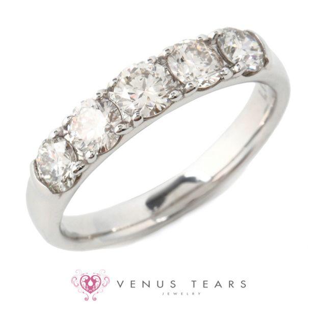 【VENUS TEARS(ヴィーナスティアーズ)】1ctダイヤ込価格Pt900【JC-2827-10】