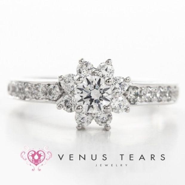 【VENUS TEARS(ヴィーナスティアーズ)】0.3ctダイヤ込価格Pt900【P3037-03】