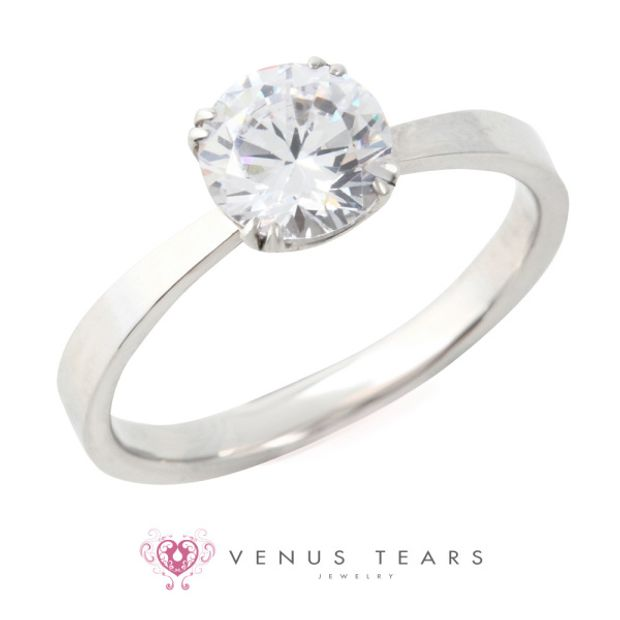 【VENUS TEARS(ヴィーナスティアーズ)】1ctダイヤ【ER8-10】