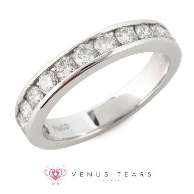 【VENUS TEARS(ヴィーナスティアーズ)】1ctダイヤ込価格Pt900【CR-0221-10】