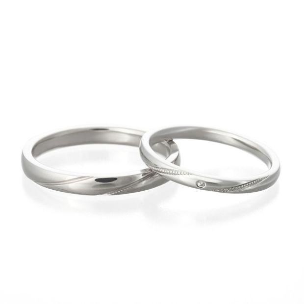 【VENUS TEARS(ヴィーナスティアーズ)】結婚指輪 【schon シェーン】銀座