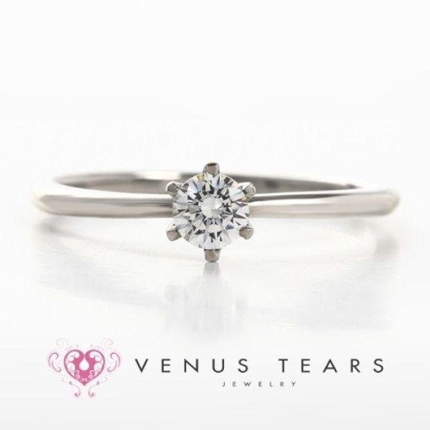 【VENUS TEARS(ヴィーナスティアーズ)】0.2ctダイヤ込価格Pt900【SAL1-02】