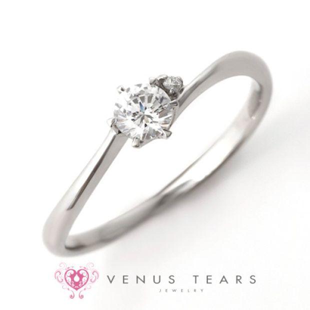 【VENUS TEARS(ヴィーナスティアーズ)】0.2ctダイヤ込価格Pt900【SAL4-02】