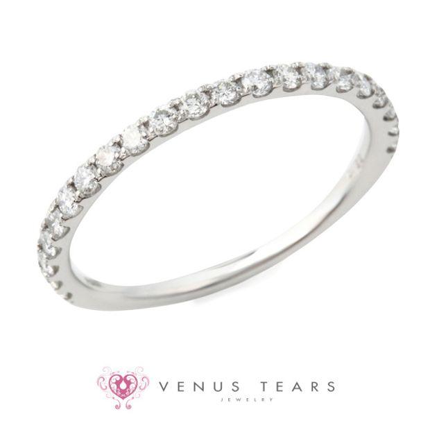 【VENUS TEARS(ヴィーナスティアーズ)】0.3ctダイヤ込価格Pt900【JI-4318-03】