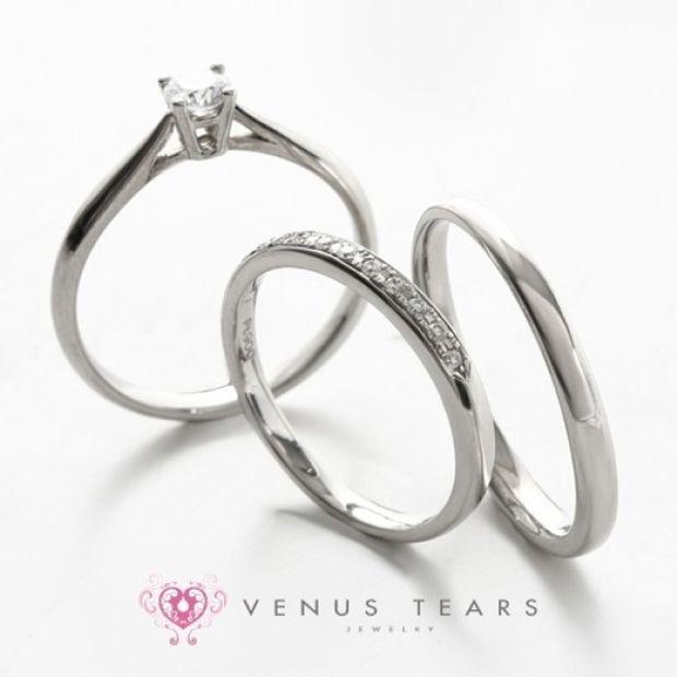 【VENUS TEARS(ヴィーナスティアーズ)】3本セット税込248000円【301】0.3ct Fカラー VS2 EXカット