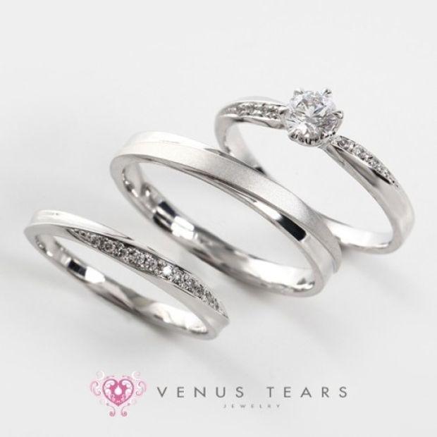 【VENUS TEARS(ヴィーナスティアーズ)】3本セット税込298000円【403】0.3ct Fカラー VS2 EXカット