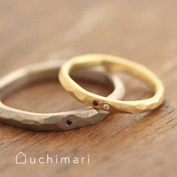 【uchimari(ウチマリ)】アンティークな雰囲気のマリッジリング
