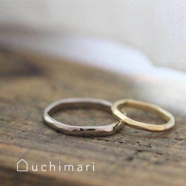 【uchimari(ウチマリ)】ゆるふわマリッジリング