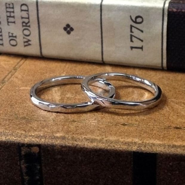 【KELLCH(ケルヒ)】【ケルヒ】結婚指輪手作りプラン「ワックスコース」作品