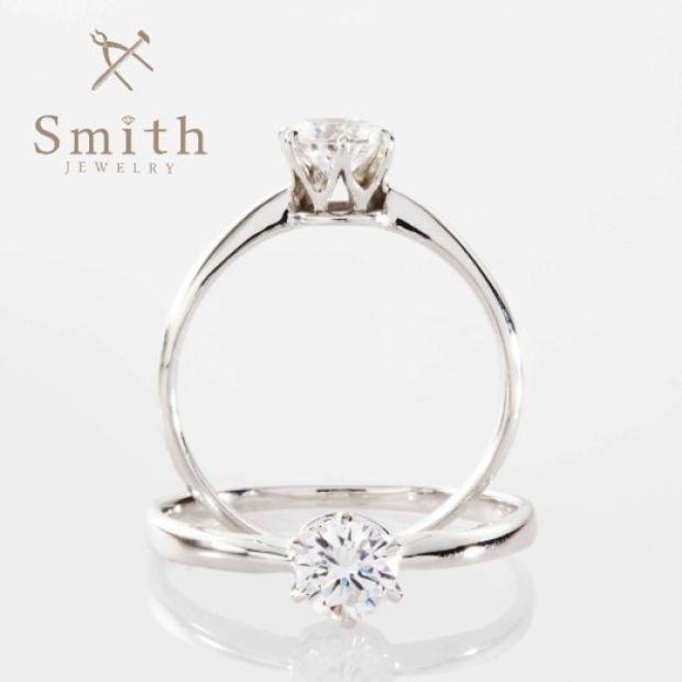 【Smith(工房スミス)】手作り婚約指輪・プロポーズリング