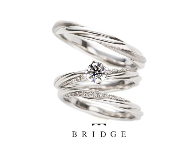 【BRIDGE ANTWERP BRILLIANT GALLERY(ブリッジ・アントワープ・ブリリアント・ギャラリー)】Bond Forever & Bond Plecious 永遠の絆/よろこびの絆