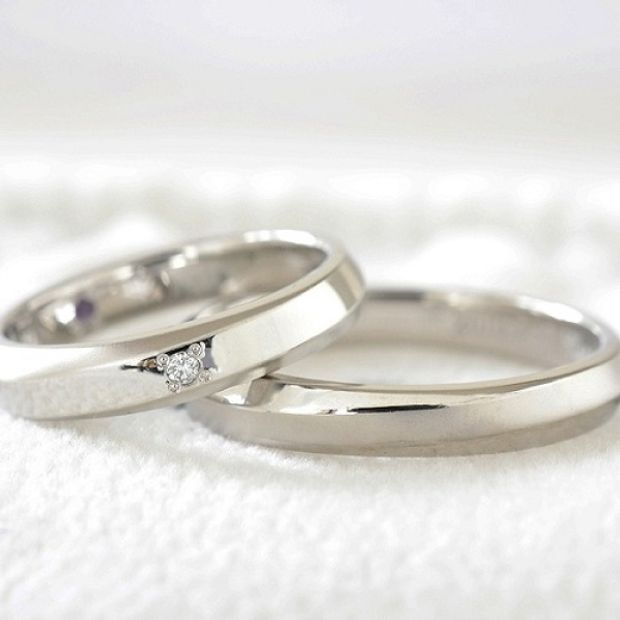 【湘南彫金工房 andfuse】【手作り結婚指輪デザインワックスコース】cho-wa(調和)をイメージした手作り結婚指輪