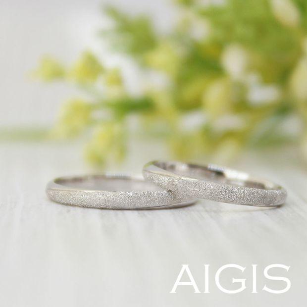 【AIGIS(旧:Jewel HAMA(ジュエルはま))】鍛造コース・手作り結婚指輪 シンプルなリングをアレンジして世界に一つのデザインに