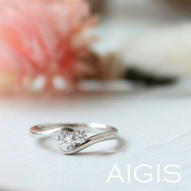 【AIGIS(旧:Jewel HAMA(ジュエルはま))】【NEW】婚約指輪-15