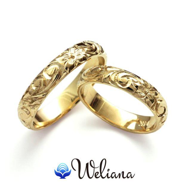 【Weliana(ウェリアナ)】オーダーメイド ペアマリッジリング シングルトーン/バレル形状