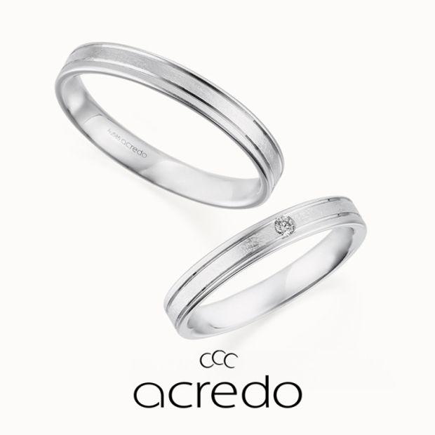 【acredo(アクレード)】【le ruban】アイスマットのテクスチャーと斜めのラインがポイント