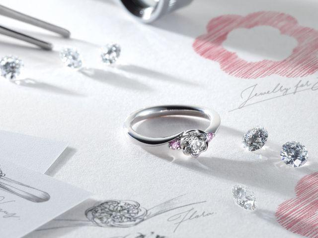 婚約指輪をお探しの場合、センターのダイヤモンドをお選び頂けます。ダイヤモンドの大きさや品質を、お好みでお選びください。もちろんご予算に合わせてカスタマイズも可能です。数多くのダイヤモンドから、運命の1石が見つかりますように…。