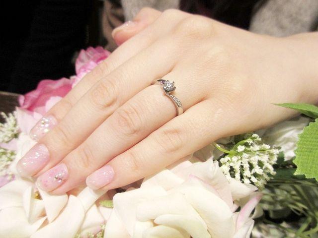 いい指輪が出来て大満足!