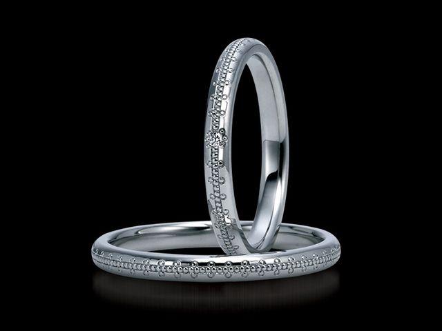 結婚指輪のデザインが一番決め手でした_395