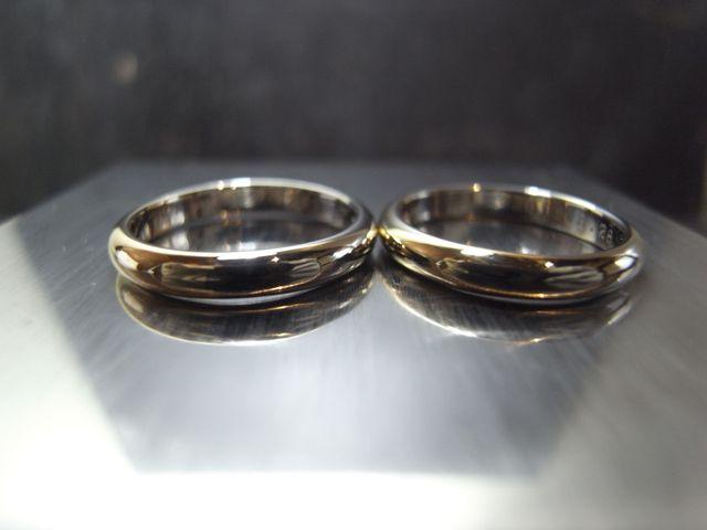 ステキな指輪が出来上がりました!
