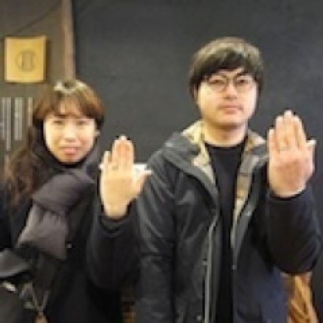 希望通りのステキなリングができて感謝してます。〜大阪店〜