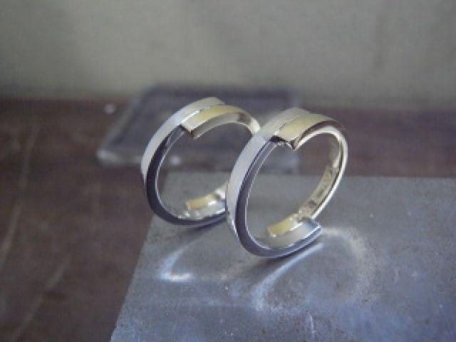 とても満足のいく結婚指輪でした。