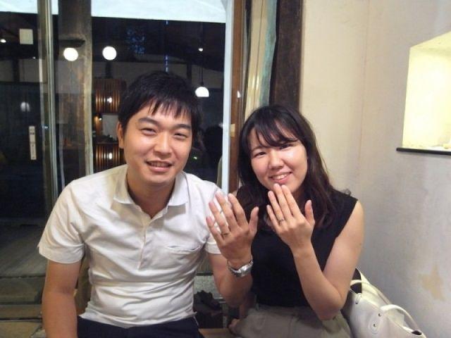 二人が納得するステキな指輪を 〜ichi銀座店〜
