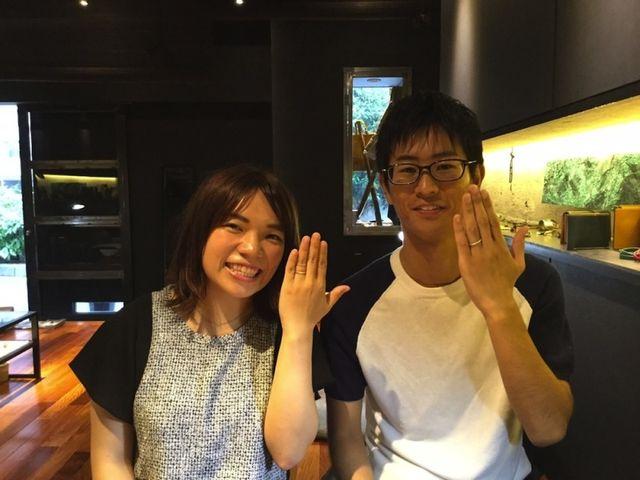 理想の指輪ができてとっても嬉しいです! 〜ichi横浜店〜