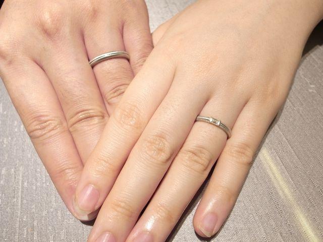 お二人ならではの特別なご結婚指輪