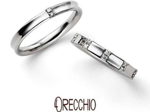 【オレッキオ 銀座店】指が綺麗に見える結婚指輪