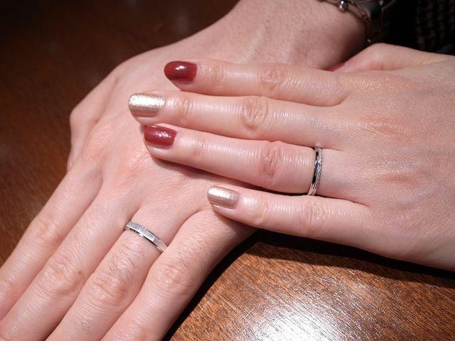 お二人だけの素敵なペア感を感じる結婚指輪