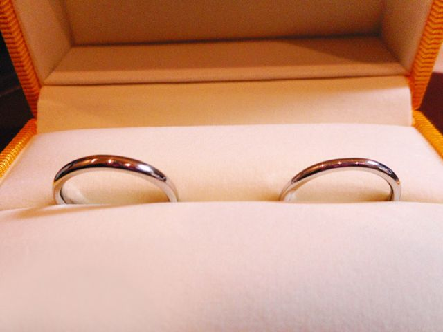 ふたりで互いに贈る手づくり結婚指輪