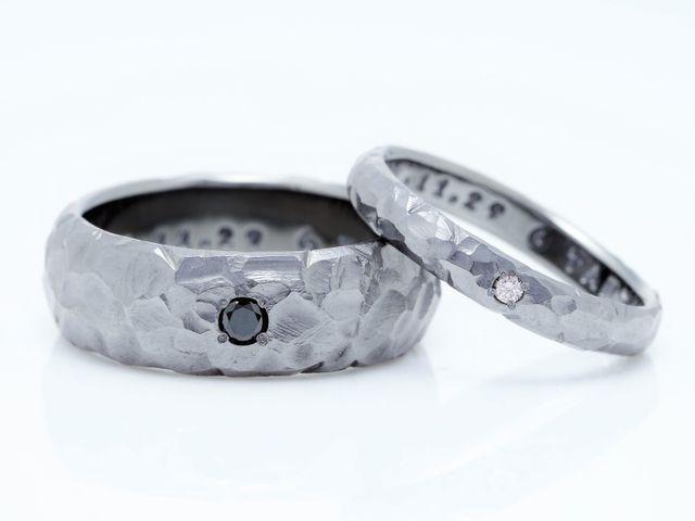 こだわってつくった『タンタル』素材の指輪