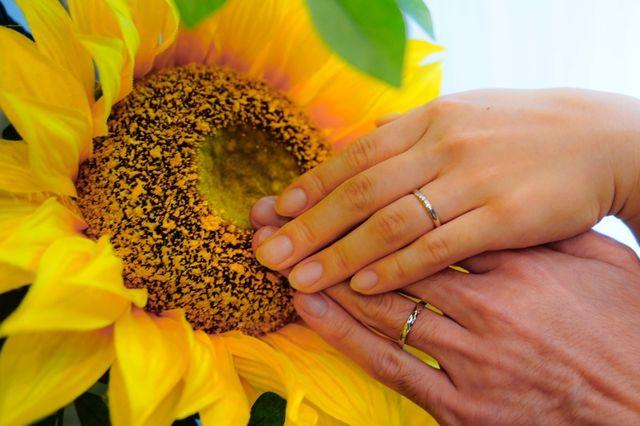 手作り結婚指輪R様&S様