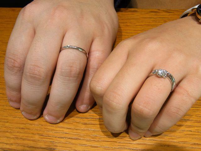 数あるリングの中でも、一目ぼれした指輪でした。