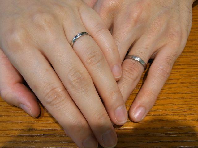 素敵な指輪と出会えました。