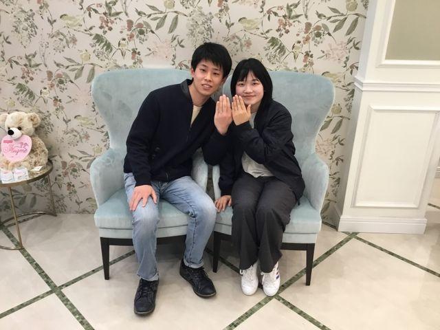 【松山店】最高の指輪に出会えました!