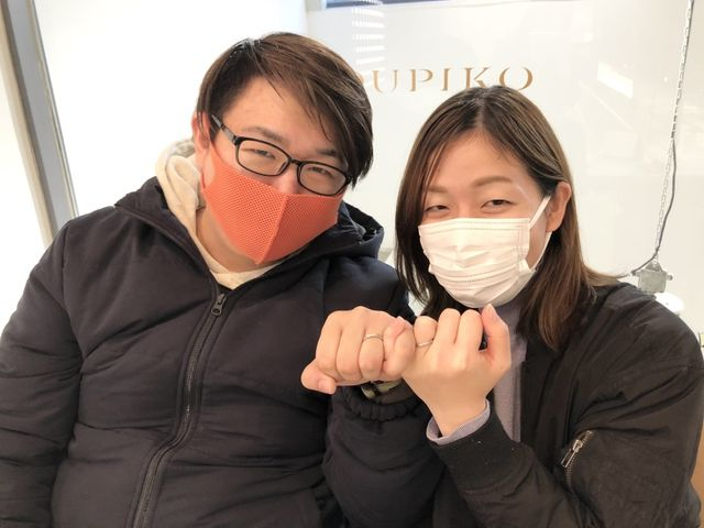 【神戸店】最高の指輪を見つけることができました。