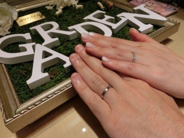 沢山可愛いデザインの指輪があって楽しく選べました。