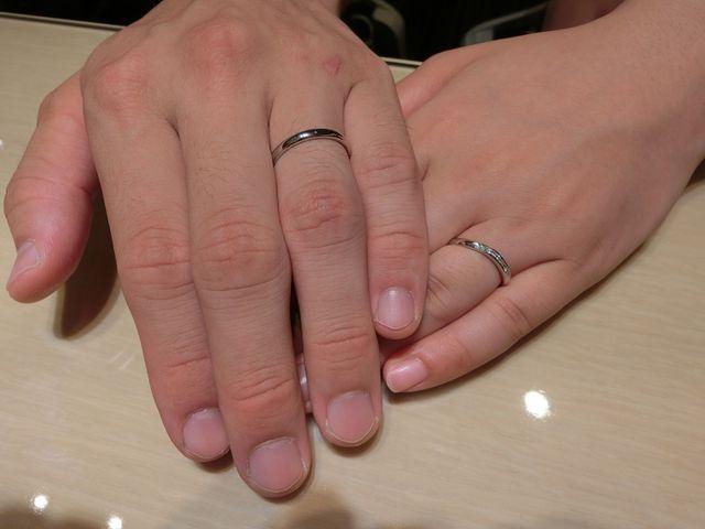 指輪大切にします。