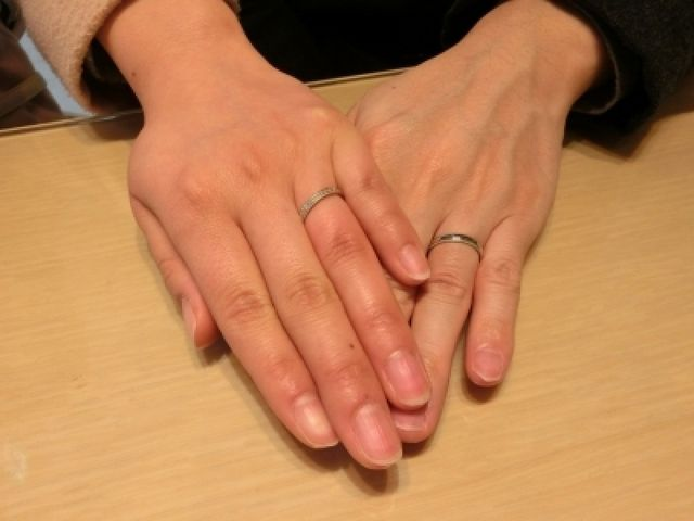 素敵な指輪をありがとうございます。