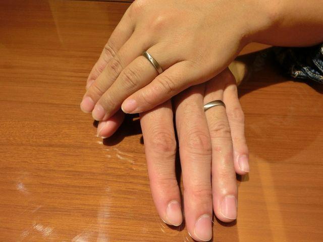 納得した指輪を選ぶことが出来ました。