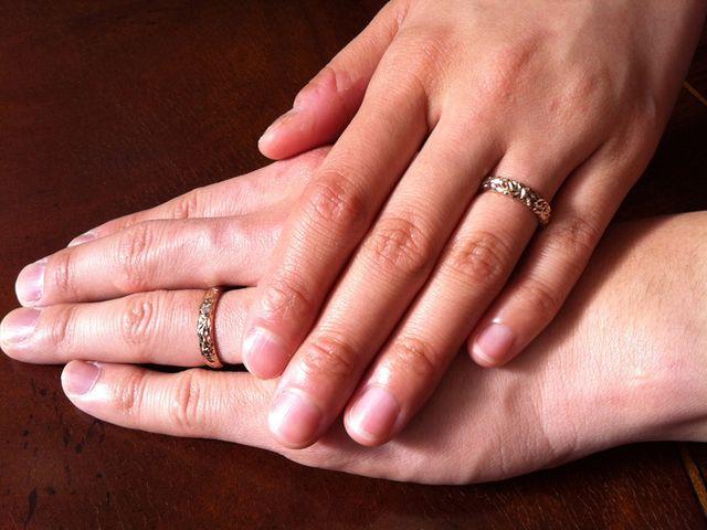 世界に一組の結婚指輪♡